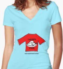 TShirt on TShirt by Alex  Women's Fitted V-Neck T-Shirt