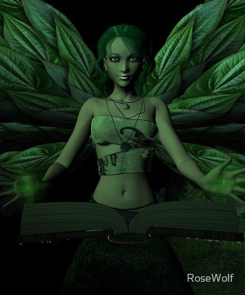 High Priestess by RoseWolf