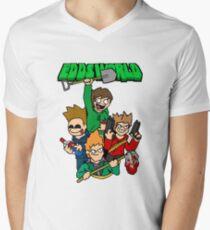 Eddsworld  Men's V-Neck T-Shirt