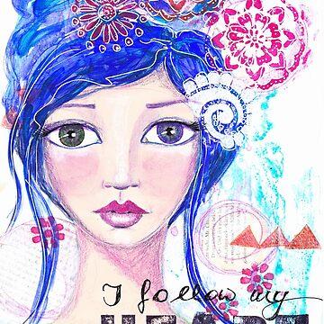I follow my heart | Ich folge meinem Herzen von AngelArt444