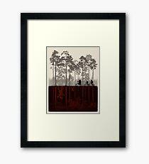 Stranger Things Framed Print