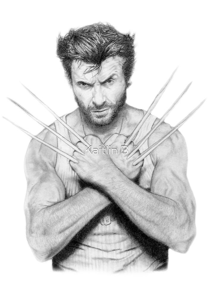 Hugh Jackman: Wolverine by DanceKaitoDance