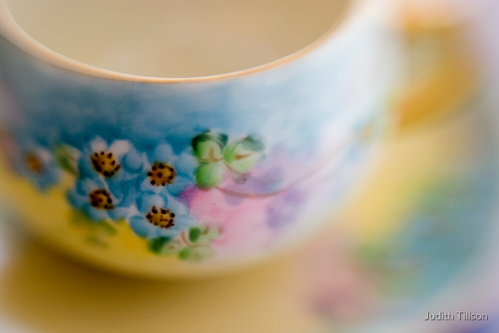 Tea cup by Judith Tillson