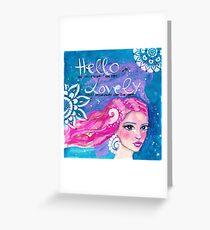 Hello Lovely Grußkarte