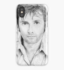 David Tennant sketch iPhone Case/Skin