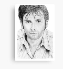 David Tennant sketch Canvas Print