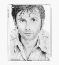 David Tennant sketch iPad Case/Skin