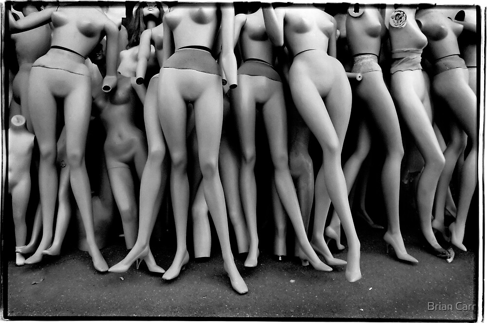 Mannequins by Brian Carr