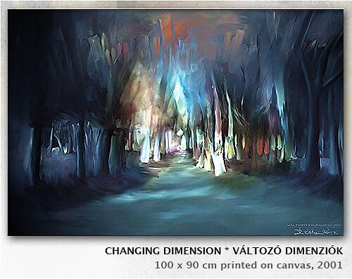Changing Dimension by EvyGabi