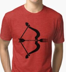 Field To Plate Tri-blend T-Shirt