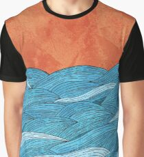 The blue sea Graphic T-Shirt