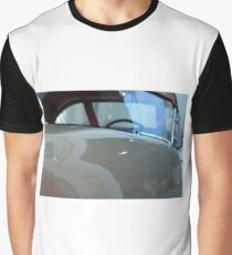 Detail of white shining car hood and windscreen Graphic T-Shirt