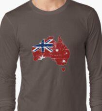 Australia - Maritime Flag Map  T-Shirt