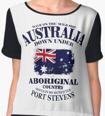 Australia Flag  Women's Chiffon Top