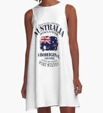 Australia Flag  A-Line Dress