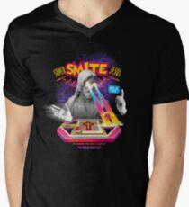 Super Smite Jesus Men's V-Neck T-Shirt