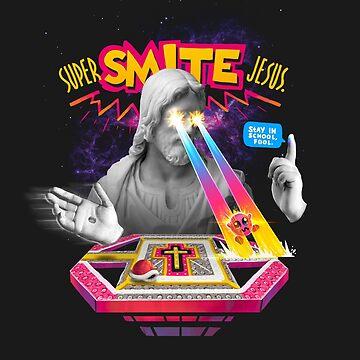Super Smite Jesus by MathijsVissers