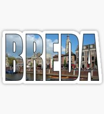 Breda Sticker