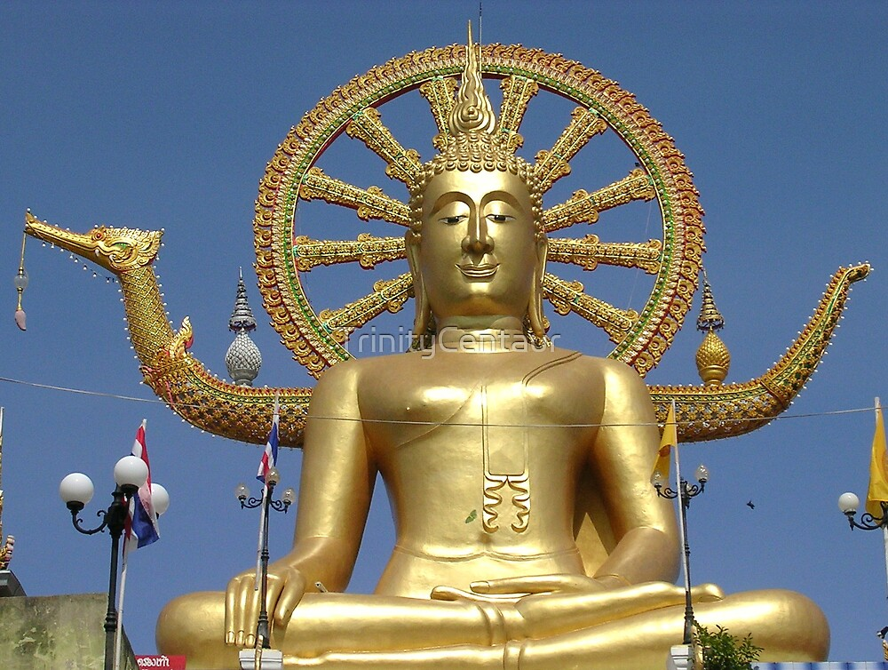Koh Samui - Big Buddha by TrinityCentaur