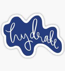 Hydrate Sticker