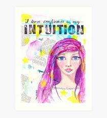 Intuition Kunstdruck