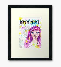 Intuition Gerahmter Kunstdruck