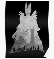 Sauron & The Fellowship Poster