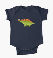BOOK DINOSAURS 03 Short Sleeve Baby One-Piece