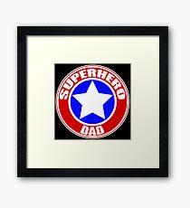 Superhero Dad Framed Print