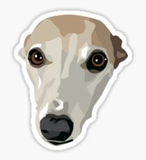 Fawn Whippet Sticker