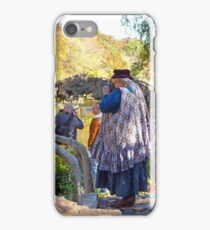 Smile! You're On Candid Camera(s)! iPhone Case/Skin