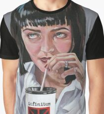 Mia Wallace Meets Infinitum Nihil - Acrylic painting Graphic T-Shirt