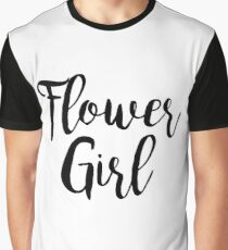 Flower Girl | Wedding Graphic T-Shirt