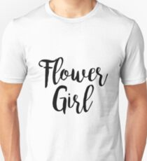 Flower Girl | Wedding Unisex T-Shirt
