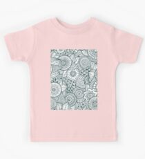 Abstract Floral Kids Tee