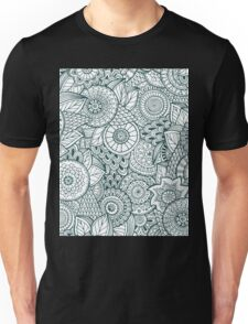 Abstract Floral Unisex T-Shirt