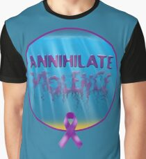 Annihilate Violence Graphic T-Shirt