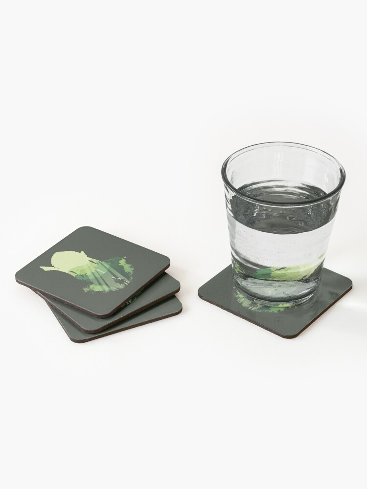 Alternate view of Prelude of Light Coasters (Set of 4)