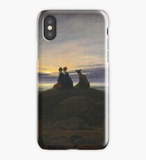 Caspar David Friedrich - Moonrise Over The Sea iPhone Case/Skin