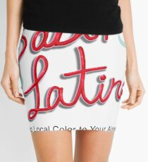 Sabor Latino Logo Mini Skirt