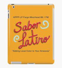 Sabor Latino Logo iPad Case/Skin