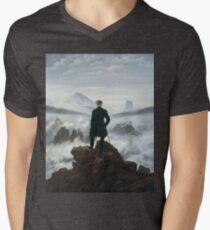 Caspar David Friedrich - The Wanderer Above The Sea Of Fog T-Shirt