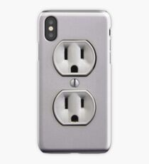 Electric Wall Outlet iPhone Case/Skin