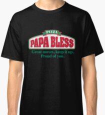 PAPA BLESS PIZZA (Parody T-shirt) Classic T-Shirt