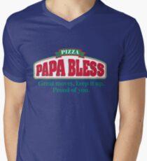 PAPA BLESS PIZZA (Parody T-shirt) T-Shirt