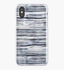 Blurred Stripe iPhone Case