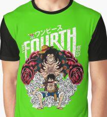 One Piece Monkey D Luffy Gear Fourth  Graphic T-Shirt