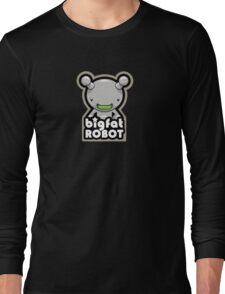 Big Fat Robot with text T-Shirt