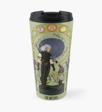 Lilac and Gooseberries Travel Mug