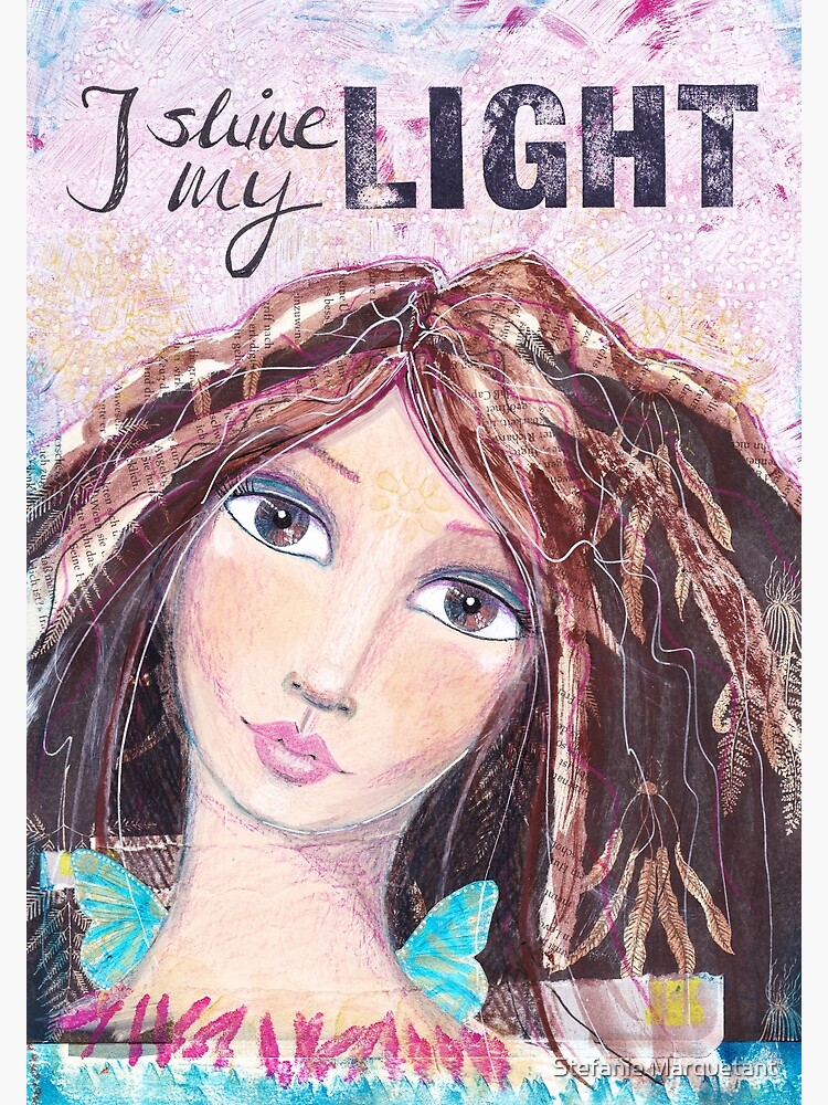 I shine my light von AngelArt444